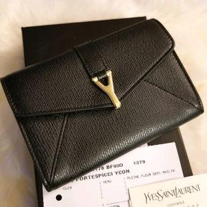 Yves Saint Laurent Mini Twee Card Holder